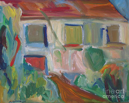 Abstract House 2 by Marlene Robbins