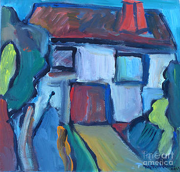 Abstract House by Marlene Robbins