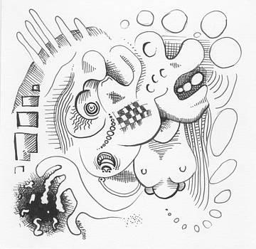 Ralf Schulze - Abstract Ink Sketch