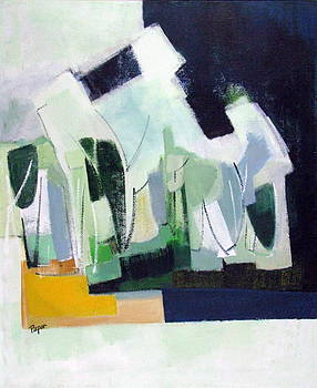 Betty Pieper - Abstract Island Night and Day