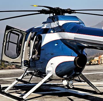 Kantilal Patel - Abstract Kashmir Chopper