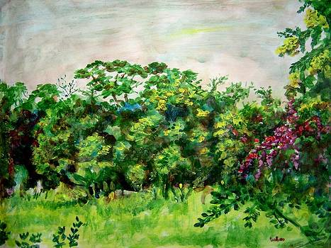 Usha Shantharam - Abstract Landscape 6