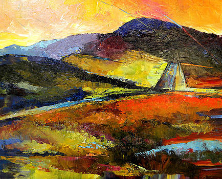 Peggy Wilson - Abstract Landscape II