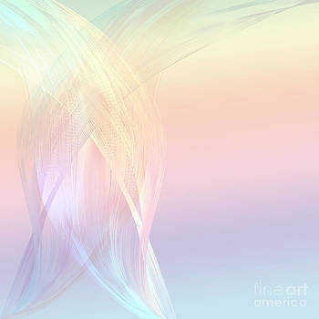 Abstract line colorful by Jantima  Cha