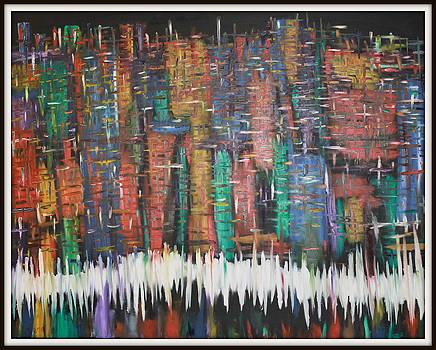 Abstract New York by Joanna Georghadjis