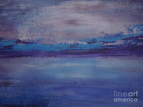 Abstract Peaceful Sea by Lam Lam