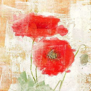 Abstract poppy  by Irena Orlov