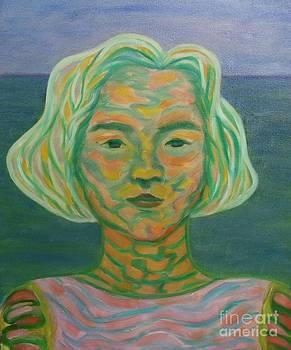 Abstract Portrait by Ziba Bastani