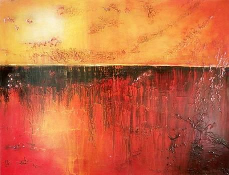 Abstract Reflection by Maximo Pizarro