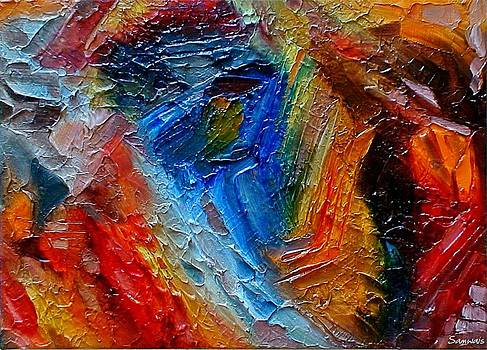 Abstract by Samwais Art