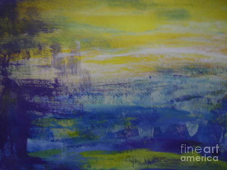 Abstract Seaside by Lam Lam