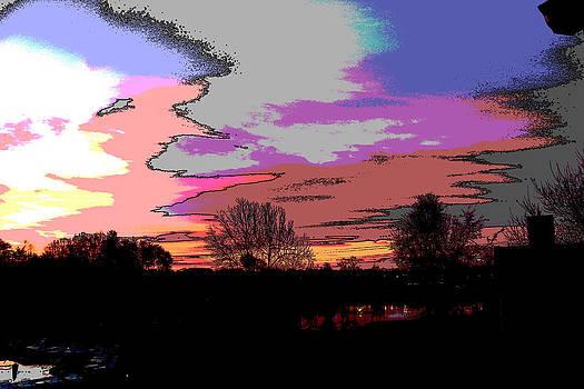 Abstract Sky by Bob Whitt
