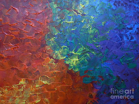 Abstract Spring Flowers by Lam Lam