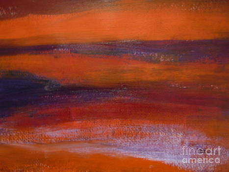 Abstract The Sun Never Go Down by Lam Lam