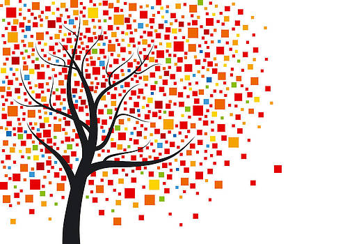 Abstract tree  by Natee Srisuk