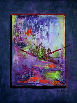 Abstract with Center by Karin Eisermann