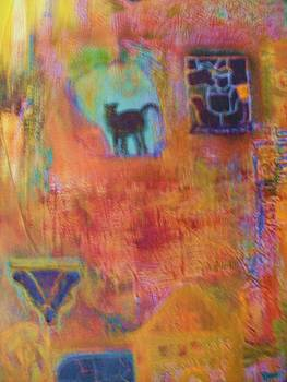 Anne-Elizabeth Whiteway - Abstract with Many Colors