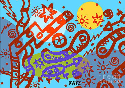 Abstract World by Daniel Katz