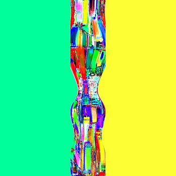 Abstracto del Lunes by Rod Saavedra-Ferrere
