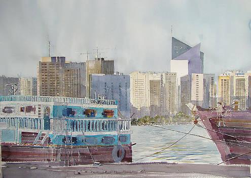 Abu Dhabi Waterfront by Martin Giesen
