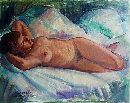 Acuna Mexico Nude by Aileen Markowski
