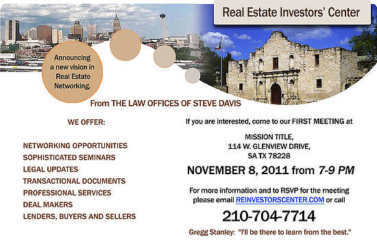 Ad for Real Estate Investor's Center by Veronica Webster