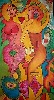Adam and Eve by ED Setien