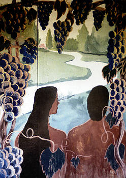 DOUG DUFFEY - ADAM AND EVE MURAL