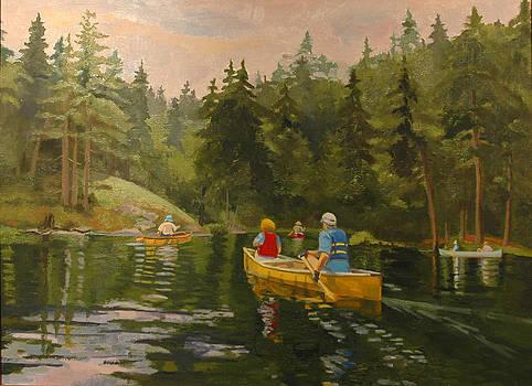 Adirondack Water Trail by Karen Lipeika