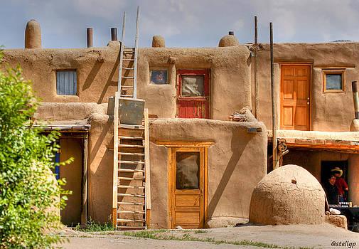 Adobe Homes by Stellina Giannitsi