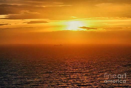 Aegean Sea by Hristo Hristov
