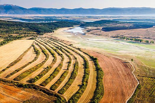 Aerial landscape by Evgeni Dinev