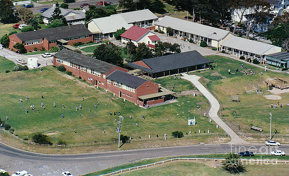 Aerial view of Narooma Public School by Joanne Kocwin