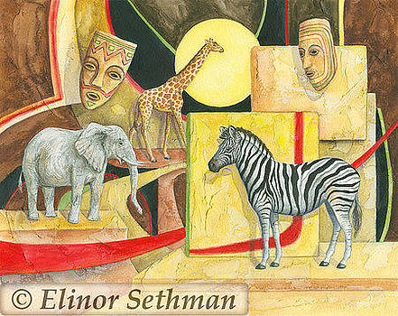 African Fantasy Two by Elinor Sethman