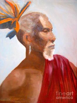 African Man by Cynthia Mozingo