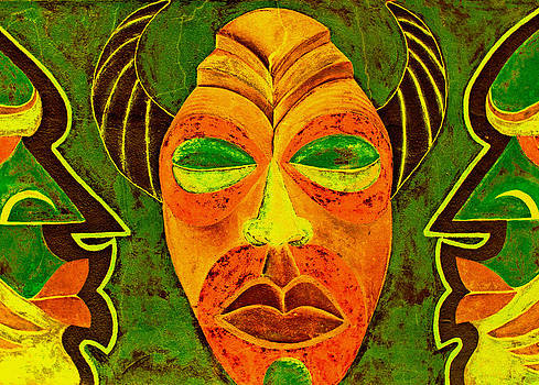 Stuart Brown - African Mask 1