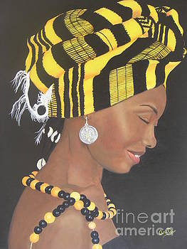 African Smile by Ana Maria  Garcia Ruiz