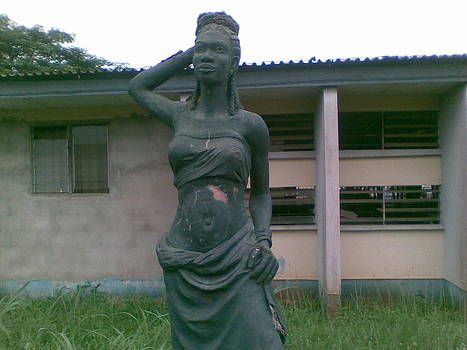 African  woman by OKORO  Judith
