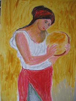 After Renoir by Luxmi Benjamin