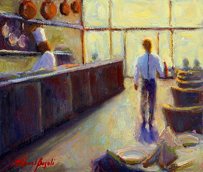 Afternoon Bistro by Michael Besoli