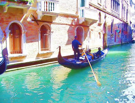 Afternoon in a Gondola by Christiane Kingsley