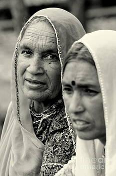 Age speaks and listens by Vishakha Bhagat