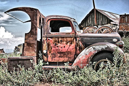 Aged Truck 2 by Donald Tusa