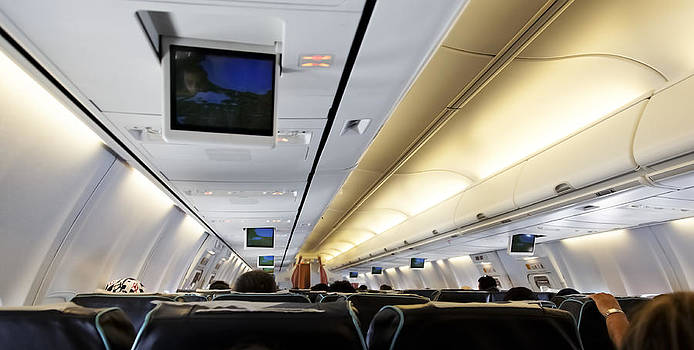 Kantilal Patel - Airplane Cabin Lines