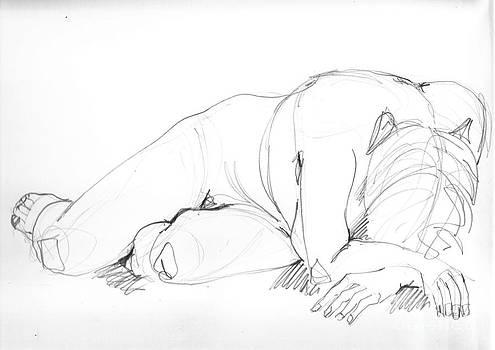 Akt 1 by Roswitha Schmuecker