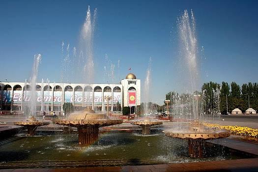 Ala-Too Bishkek by Frederic Vigne