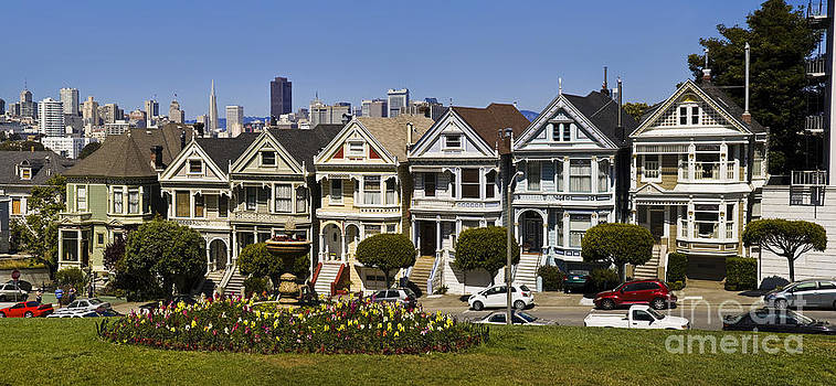 Tim Mulina - Alamo Square Painted Ladies