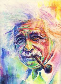 Albert Einstein by Raymond L Warfield jr