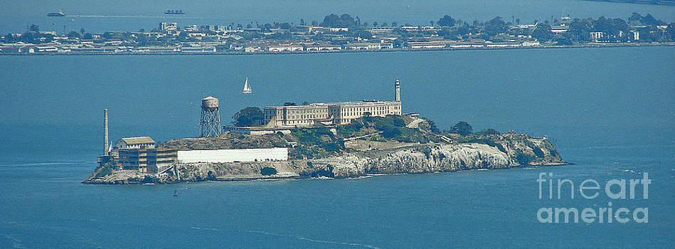 Alcatraz In April by Suze Taylor