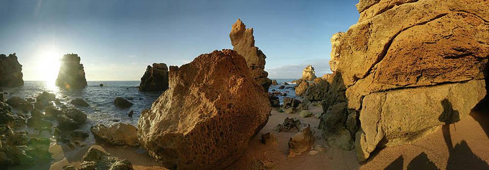 Algarve cliffs 2 by Erik Tanghe